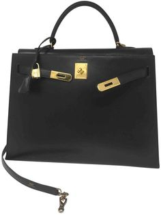 a8173d07f00c Hermes Kelly 35 leather handbag Hermes Vintage