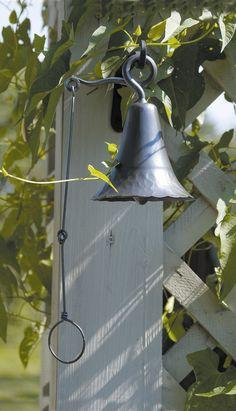 ACHLA Wrought Iron Bell & Reviews | Wayfair