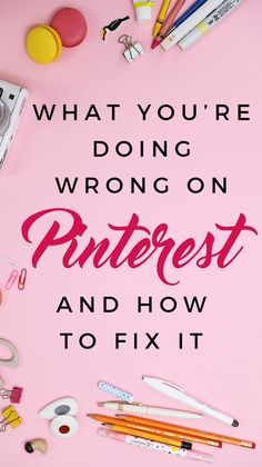 FREE GUIDE: 4 THINGS YOU ARE DOING WRONG ON PINTEREST. One of the top ways I'm able to make money online and sustain a thriving business is Pinterest.   But it wasn't always that way. I had a hard time figuring out my exact strategy and how to make sure p