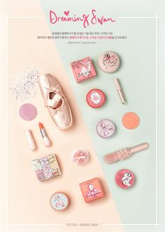 Etude House Dreaming Swan Collection