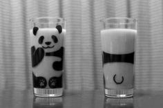 Panda nilk, can you? Human-being are so creative!