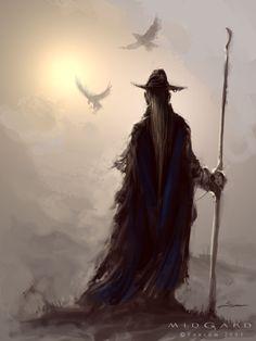 Odín, el dios supremo de la mitología nórdica   SobreLeyendas