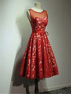 Vintage Style Prom Dress