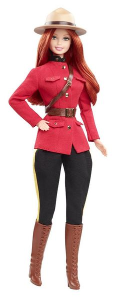 Barbie Dolls of the World Canada (2013) ~ One DOTW I don't have. But would LIKE ... hint, hint