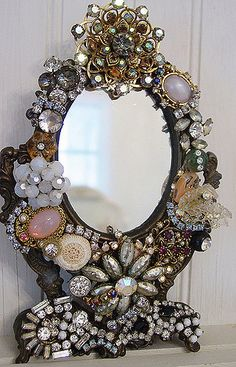 Jewel Mirror~Vintage!   Mary Garrett   Flickr