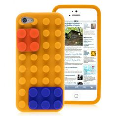 $2.99 Shipping This phone case sell at http://www.handbagloverusa.com/ Lego Block Soft Silicone Case for iPhone5/5S