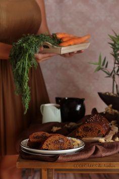 Bizcocho de Zanahoria, Chocolate y Canela. Cookcakes de Ainhoa