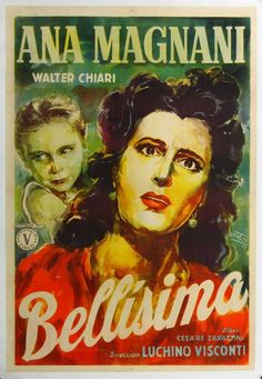 """""""Bellissima"""" (1951). Country: Italy. Director: Luchino Visconti."""