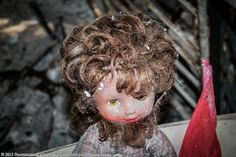 Many of the dolls can be found in the city's kindergarten classrooms. These classrooms, with their desks, small beds, and other children's items, are a favorite subject of many photographers. Chernobyl Disaster, Small Beds, Russia, Favorite Subject, Dolls, Abandoned, Photographers, Kindergarten, English