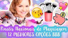 Melhores Pincéis Nacionais Bons e Baratos de Maquiagem | 12 Marcas Que V...
