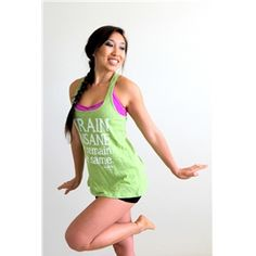 Train Insane or Remain the Same Workout top from ogorgeous.com