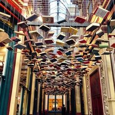 "Want to see something quirky in London? Try Leadenhall Market's ""False Ceiling"""