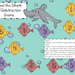 Shark's Dinner-A Subtraction Game and a Give-Away