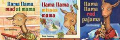 Llama Llama Mad at Mama v. Llama Llama Misses Mama v. Llama Llama Red Pajama - Which book is your favorite? We love them all