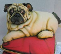 Pug - Mike's Amazing Cakes (GALLERY)Looks like my Murphy!  I could never cut and eat this cake.