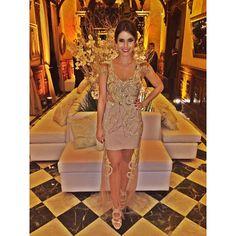 @robertaschincariol madrinha de casamento no Castelo de Itaipava brilhou com Dress @robertabrandaobrand ! ✨✨✨ Amamos!  #madrinha #projetomadrinha #dress #lookfesta #partydress #fashiondress #joia #bordados #glam #itgirl #itdress #inlove