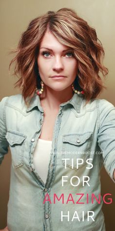 Tips for Amazing Hair