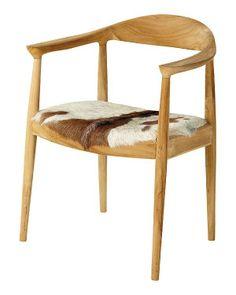 Sillas retro con madera curvada