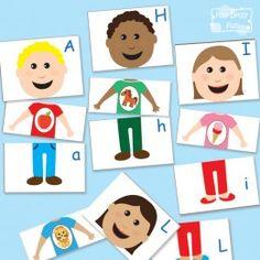 FREE Alphabet Matching puzzles