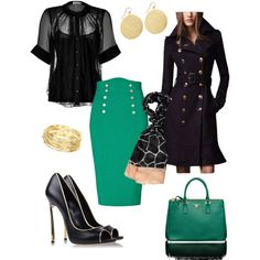"""Emerald Eye"" by sweetangel-1 on Polyvore"