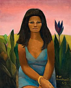Marina Montini, de Emiliano Di Cavalcanti (1969)