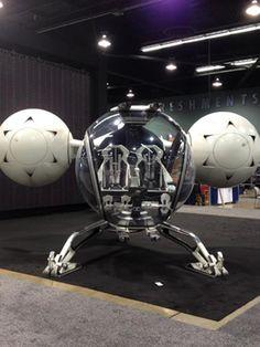 Oblivion Ship prototype by Daniel Simon