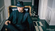 "Lee Daniels, The ""Butler"" filmaker tackes on heavy subjects in the Fox Network Empire TV Series; such as homophobia, mortality in his 'King Lear' meets 'Godfather' musical hip-hop drama. Danny Strong also part of this project with Ilene Chaiken makes for interesting storylines/plots. Pictured; Actor Terrence Howard who plays Lucious Lyon on the Empire TV series."
