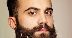 A agência de publicidade Grey London criou uma série de enfeites de Natal em miniatura que os homens poderem pendurar em suas barbas ...  Ma...