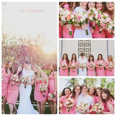 coral wedding colors <3 themarriedapp.com hearted <3