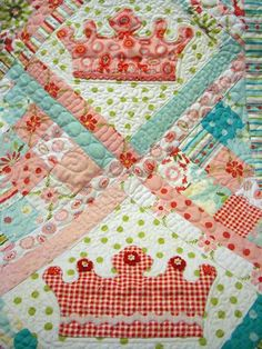 Dreaming Princess Crown Quilt PDF by FredasHive on Etsy, $8.00