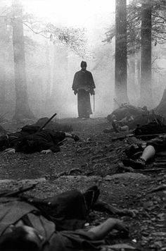 The samurai used the Precepts of Bushido to help them keep what balance they could in an era of constant war.
