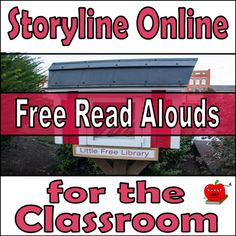 Storyline Online provides great free read alouds for your classroom. Check out…