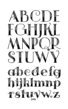 Incomplete alphabet... but whatever