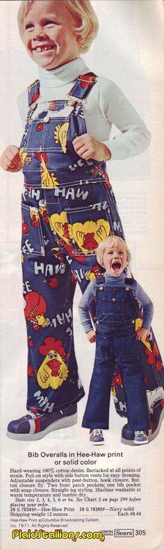 Hee-Haw overalls