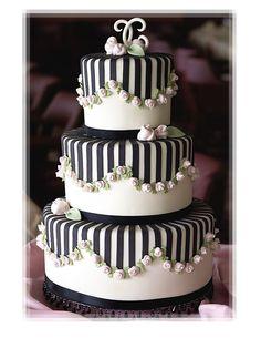 212 Best Wedding Cakes Black White Images Yummy Cakes Amazing