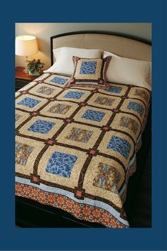 White Chocolate FREE quilt pattern! Highlight your favorite quilt fabric prints in these big blocks. Pieced sashing makes an interesting secondary design. This free quilt pattern also includes a free pillow pattern! Isn't quilting fun?!