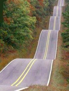 Roller Coaster highway, Tulsa, Oklahoma..next time we go to Oklahoma!! Whoop!