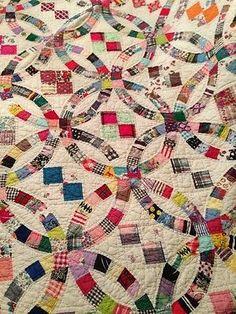 """Antique Vintage Handmade Quilt 80 5"""" x 67 5""""   eBay"""