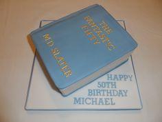Book 50th Birthday Cake #cavendishcakes