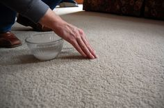 how to deep clean carpet