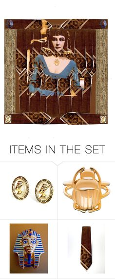 """Ancient Relics"" by muskrosevintage ❤ liked on Polyvore featuring art, MemberSpotlight, etsy, pheinart and etsyevolution"