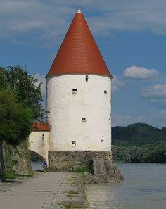 Passau: Schaiblingsturm