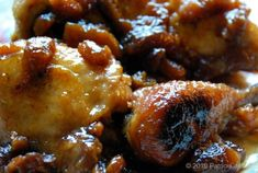 Deliciously Sweet: Chicken with Tamarind, Apricots and Chipotle Sauce