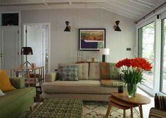 Learn more about the firm Egon Walesch Interiors & Flowers based in Cabins In The Woods, House In The Woods, Contemporary Cottage, European House, Cottage Interiors, Retro Chic, Rustic Farmhouse, Rustic Decor, Designer