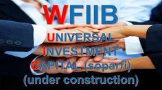 #WFIIB  www.wfiib.com Under Construction, Tech Companies, Investing, Company Logo