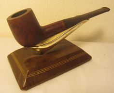 Vintage Bruyere Garantie Aldanie Straight Pot Billiard Estate Briar Tobacco Pipe