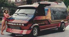 Custom 70's show van