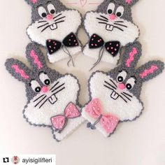 For different and beautiful fiber models from page a … – Harika El işleri-Hobiler Slip Stitch Crochet, Crochet Ripple, Bobble Stitch, Crochet Chart, Easter Crochet, Crochet Bunny, Crochet Flowers, Baby Knitting Patterns, Crochet Blanket Patterns