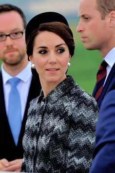 Catherine Duchess of Cambridge attends the Somme Centenary commemorations at the Thiepval Memorial on June 30, 2016 in Albert, France.