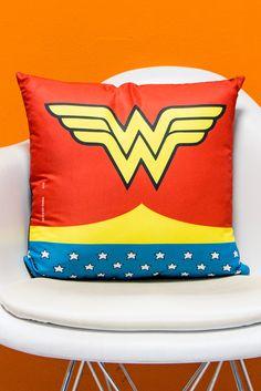 Almofada Power Girls Wonder Woman Clothes